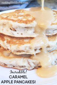 apple pie pancakes buttercream syrup 5