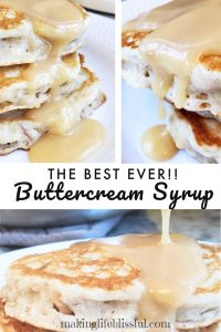 buttercream pancake syrup recipe 2