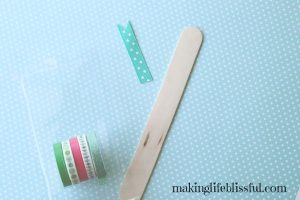 craft stick bookmark craft 1