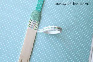 craft stick bookmark craft 3
