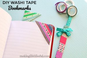 diy washi tape bookmark 10