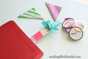diy washi tape bookmark 6