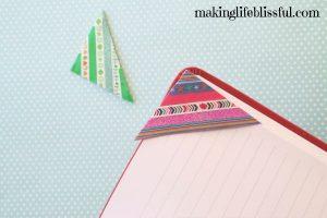diy washi tape bookmark 9