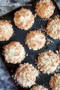 Pina-Colada-Pineapple-Coconut Muffins in a tray