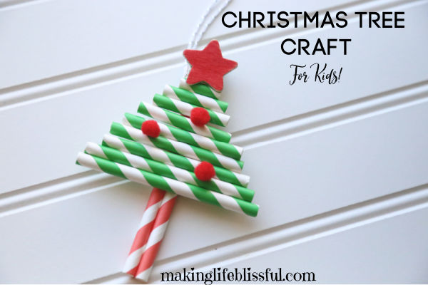 paper-straw-christmas-tree-craft