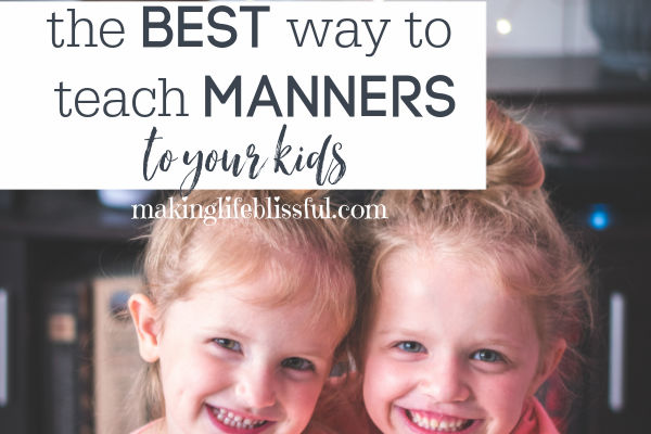 How to Teach Manners to Children